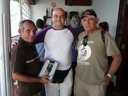 con Tirso Mastrapa e Angel Quintana di Aldia Telecristal
