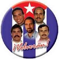 Pagina especial Cinco heroes cubanos