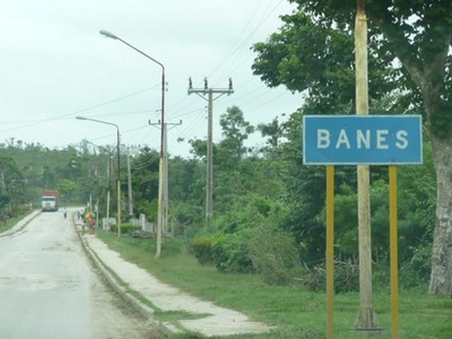 Banes - cartello stradale
