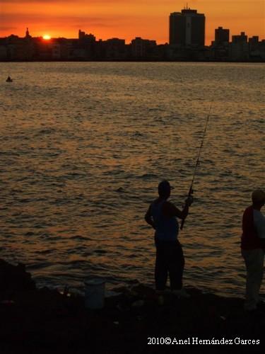 La Habana - El Malecon Pescatori 2